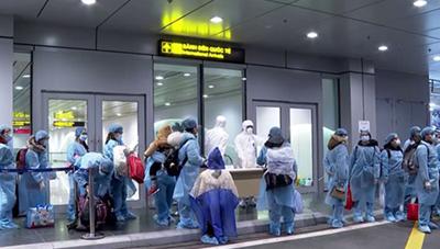 Đưa 350 công dân Việt Nam từ Nhật Bản về nước an toàn