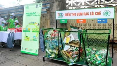 Phân loại rác thải từ đầu nguồn: Tạo ý thức và hình thành thói quen