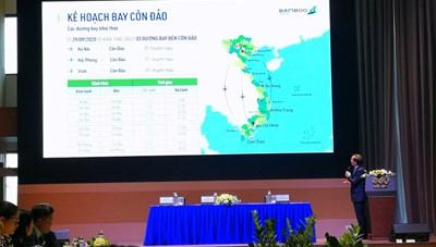 Giữa bão dịch, Bamboo Airways mở 3 đường bay thẳng từ miền Bắc đến Côn Đảo