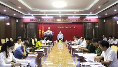 Quảng Ninh: Tập trung chuẩn bị Đại hội đại biểu Đảng bộ tỉnh lần thứ XV