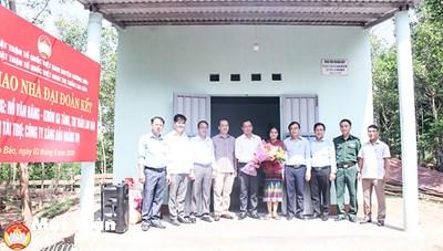 Lao Bảo (Quảng Trị): Xóa nhà tạm cho hộ nghèo