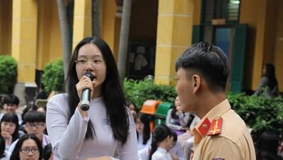 Hơn 2.000 học sinh tham gia 'Hành trình Văn hóa giao thông'