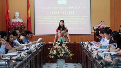 Hà Nội: Kiểm tra công tác chuẩn bị kỷ niệm 90 năm Ngày truyền thống Mặt trận