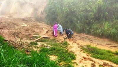 BẢN TIN MẶT TRẬN: Mặt trận thăm hỏi các tỉnh bị thiệt hại do bão số 5