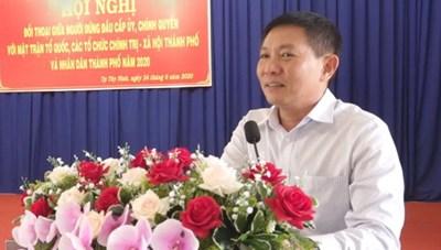 Tây Ninh: Đối thoại với MTTQ, các tổ chức chính trị - xã hội và nhân dân