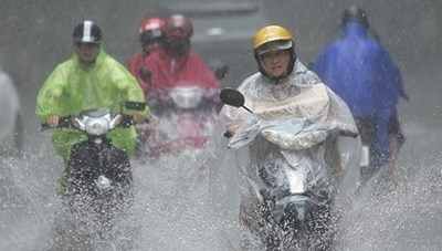 Chiều tối nay Bắc Bộ mưa to, cảnh báo lũ hạ lưu sông Hồng