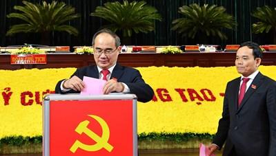 Ông Nguyễn Thiện Nhân tiếp tục theo dõi, chỉ đạo Đảng bộ TP HCM đến hết Đại hội XIII của Đảng