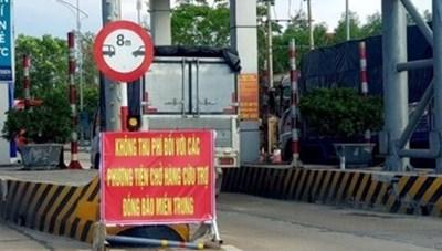 Tạm dừng thu phí trạm BOT qua Quảng Trị
