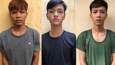 Tạm giữ 3 thanh niên cướp giật giữa ban ngày