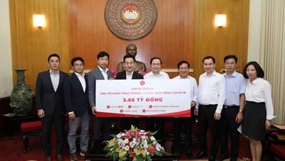 BẢN TIN MẶT TRẬN: Chủ tịch Trần Thanh Mẫn tiếp nhận ủng hộ công tác phòng, chống Covid-19