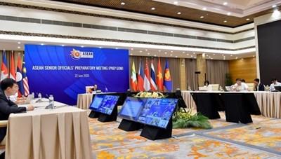 Họp trù bị các quan chức cao cấp ASEAN