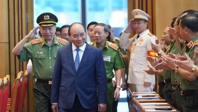 Thủ tướng dự Hội nghị sơ kết công tác công an 6 tháng đầu năm 2020