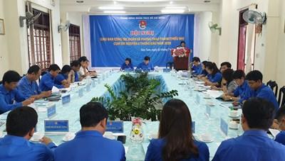 Giao ban công tác Đoàn và phong trào thanh thiếu nhi cụm Tây Nguyên