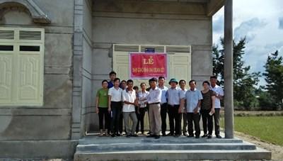 Bình Định: Bàn giao nhà Đại đoàn kết cho hộ nghèo