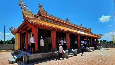 Đền thờ vua Hàm Nghi và các tướng sĩ Cần Vương