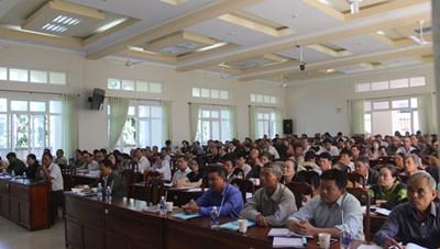 Lâm Đồng Tập huấn công tác Mặt trận cho gần 200 cán bộ cơ sở