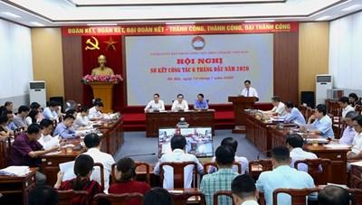 BẢN TIN MẶT TRẬN: Mặt trận Trung ương Sơ kết công tác 6 tháng đầu năm 2020