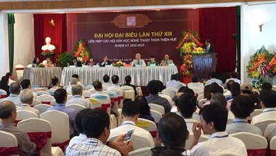 Ngày hội vui của văn nghệ sĩ Thừa Thiên-Huế