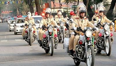 Đợt cao điểm bảo đảm trật tự an toàn giao thông