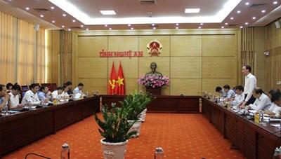 BẢN TIN MẶT TRẬN: Phó Chủ tịch Phùng Khánh Tài làm việc tại Nghệ An