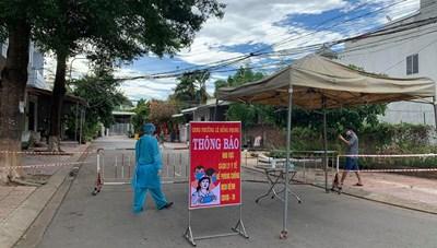 Quảng Ngãi: Phong tỏa khu vực nơi bệnh nhân 590 sinh sống