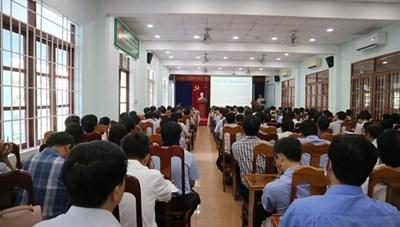 Khánh Hòa: Tập huấn nghiệp vụ coi thi tốt nghiệp THPT