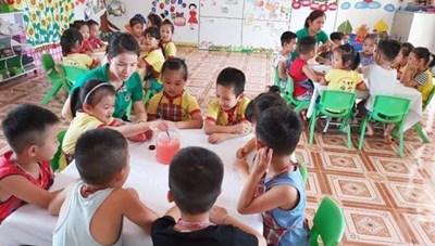 Không quá 35 trẻ trong một lớp mẫu giáo 5 tuổi