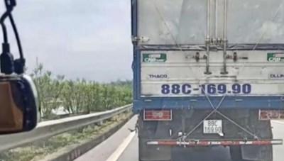 Không nhường đường cho xe ưu tiên trên cao tốc Hà Nội – Lào Cai: Tước giấy phép lái xe 2 tháng