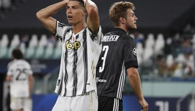 Ronaldo lập cú đúp, Juventus vẫn cay đắng chia tay Champions League