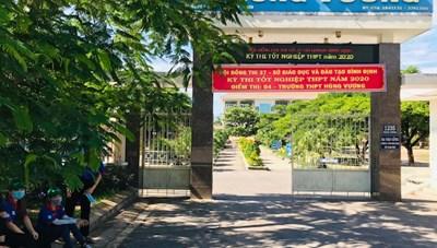 Bình Định: Hoàn tất công tác chuẩn bị kỳ thi tốt nghiệp THPT năm 2020