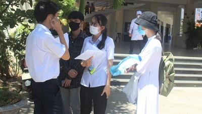 Quảng Nam: Thí sinh hài lòng với câu hỏi liên quan dịch Covid-19