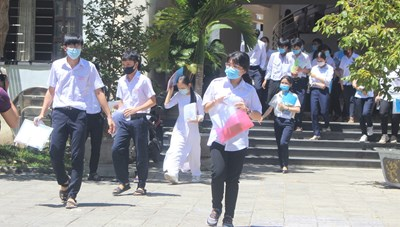 Hơn 600 thí sinh Quảng Nam vắng thi tốt nghiệp các môn tổ hợp