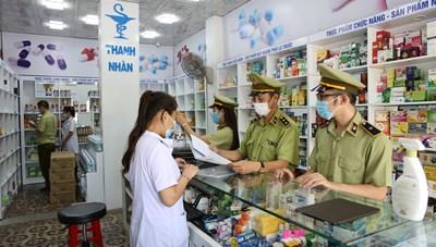 Quảng Ninh: Đội Quản lý thị trường số 3 tăng cường công tác kiểm tra phòng, chống dịch