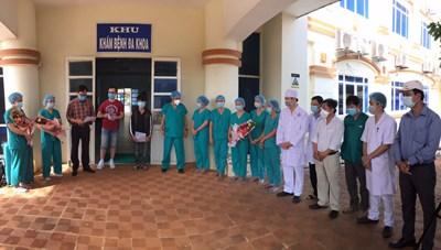 Quảng Ngãi: Ca nhiễm Covid-19 đầu tiên trong cộng đồng xuất viện