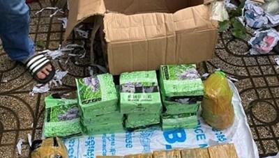 Bắt đường dây buôn lậu ma túy khủng từ Campuchia về Việt Nam