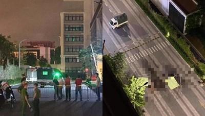 Hai người rơi từ tầng cao chung cư xuống đất tử vong