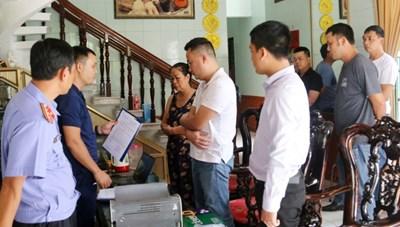 Triệt phá thành công đường dây đánh bạc hơn 1.000 tỷ ở Quảng Bình