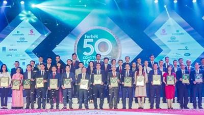 Lần thứ 8 liên tiếp, Tập đoàn Đất Xanh được vinh danh 'Top 50 công ty niêm yết tốt nhất Việt Nam 2020'