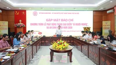 Hà Nội: Tập trung chăm lo cho người nghèo