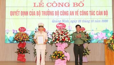 Công an tỉnh Quảng Ninh được bổ sung một Phó Giám đốc từ Bộ Công an