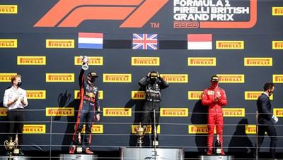 Chặng đua F1 British Grand Prix: Lewis Hamilton giành chiến thắng đầy kịch tính