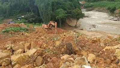 Thủy điện Rào Trăng 3: Có khả năng 16 công nhân mất tích dưới lòng hồ