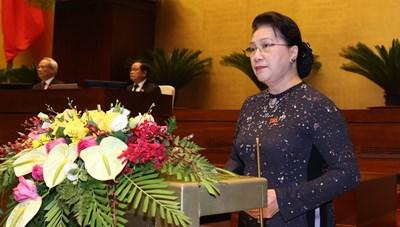 Quốc hội chia sẻ với những mất mát tại nhiều tỉnh miền Trung