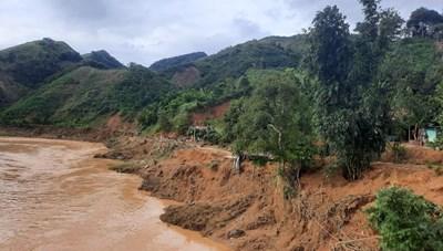 Quảng Nam: Tìm thấy thi thể bà cụ bị nước cuốn trôi khi lội sông