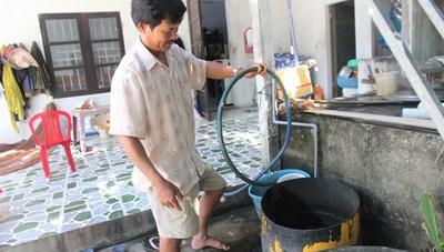 Quảng Nam: Dân khát nước sạch do bị nhiễm phèn