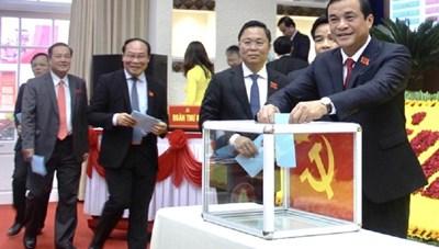 Quảng Nam: Ông Phan Việt Cường tái cử Bí thư Tỉnh ủy