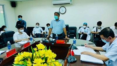 Bệnh viện 199 siết chặt quy trình thu dung, phân luồng bệnh nhân