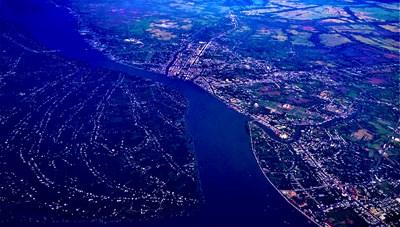 [ẢNH] Đồng bằng sông Cửu Long nhìn từ trên cao