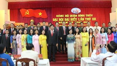 Cần Thơ: Ông Trần Quốc Vũ tái đắc cử Bí thư quận uỷ Bình Thuỷ