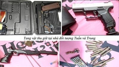 Phá chuyên án mua bán ma tuý và vũ khí quân dụng rúng động ĐBSCL